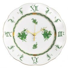Herend Apponyi Green Wall Clock